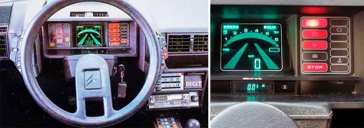 Flash Dance: Car Digital Dashboards of the 1980s