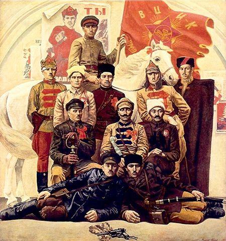 Красные командиры - Шакко