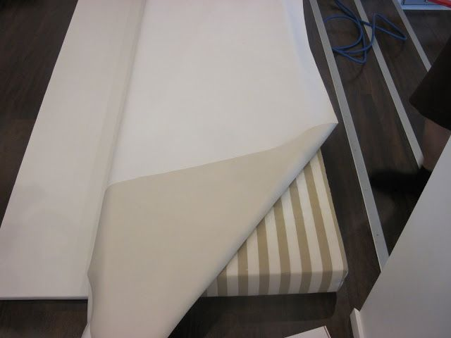 DIY - sängynpääty / DIY - Headboard