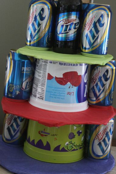 how to make a beer cake for fathers day or fathers birthday :)