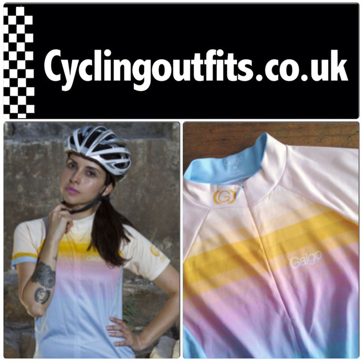 Gorgeous women's jersey from Galgo Ropa Ciclismo, loving these Chilean designs!