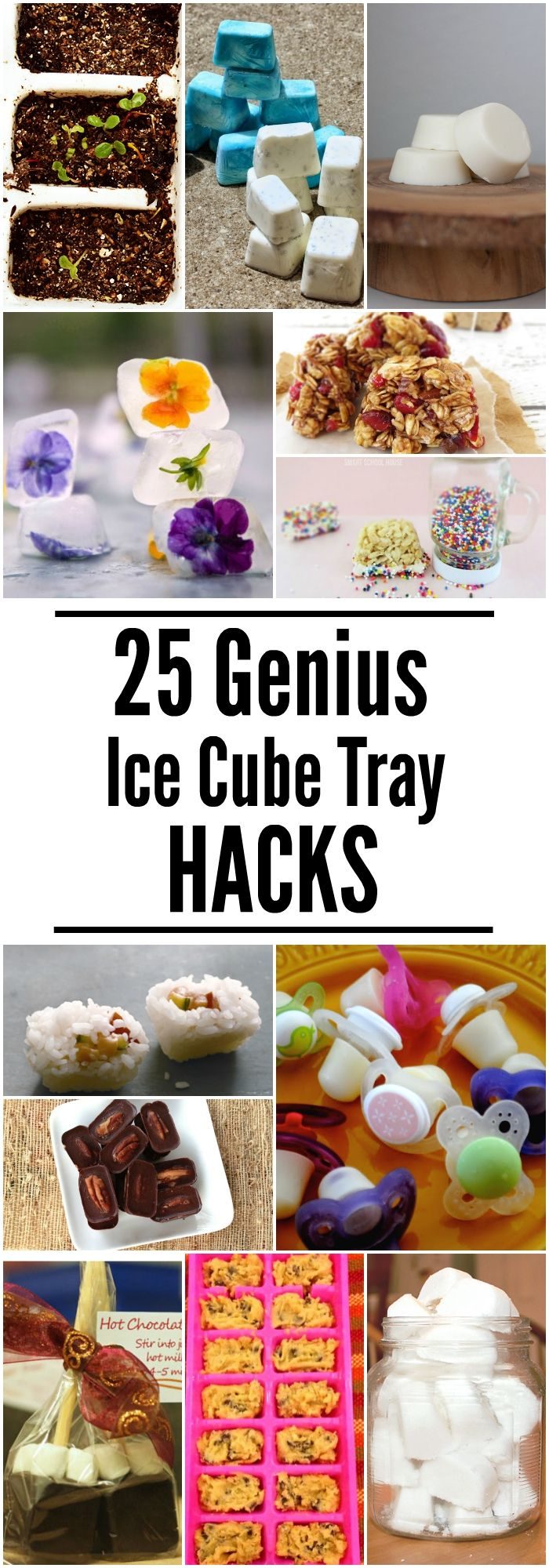 These Ice Cube Tray Hacks will make your life easier (and so much more delicious!) Click now!