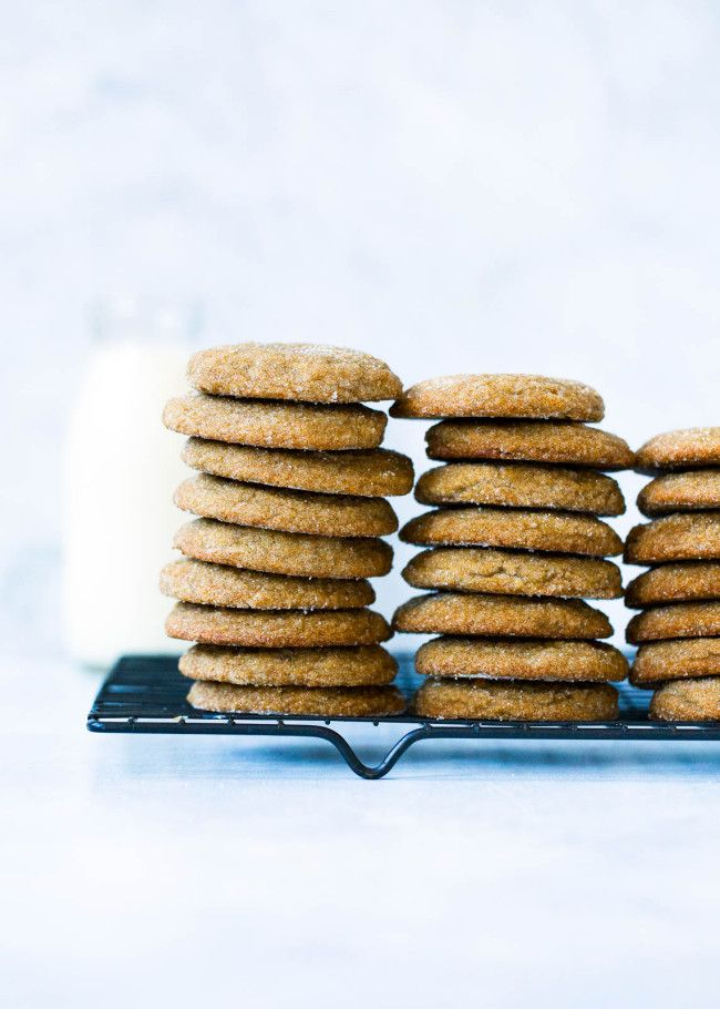 Soft Gingersnap Cookies Recipe | Two Peas & Their Pod