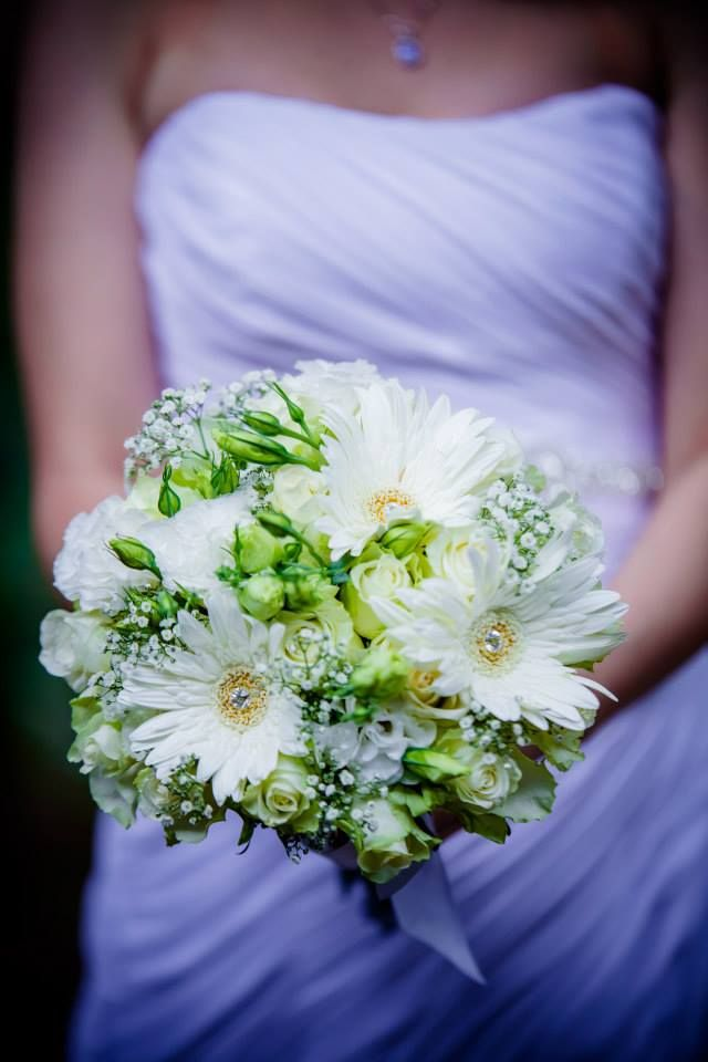Dilightful Wedding Flowers - Bridal Bouquet for Carey - Olive and Twist