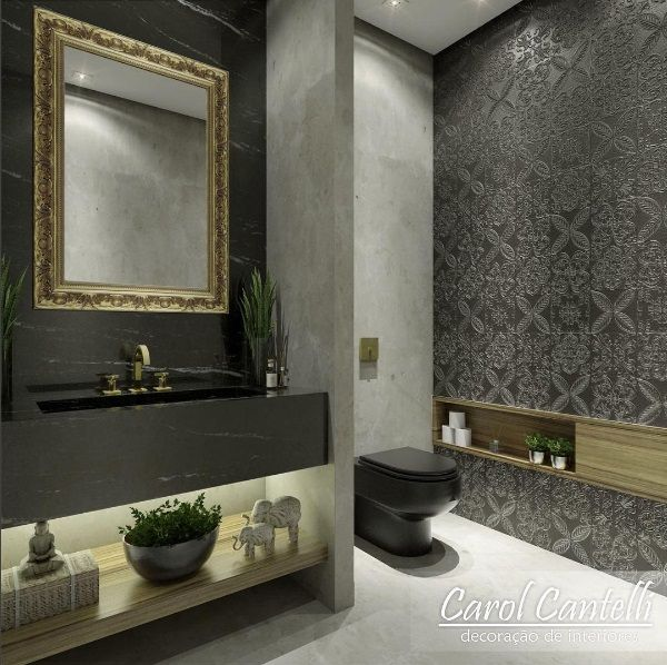 Banheiro. Por Carol Cantelli