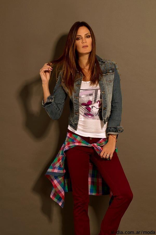 Jeans VOV otoño invierno 2013 con Paula Chaves