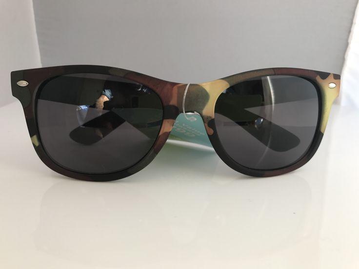 Foster Grant Swak Real Camo Sunglasses Unisex Eye Wear 100% UVA-UVB Protection Sunglasses Goggle