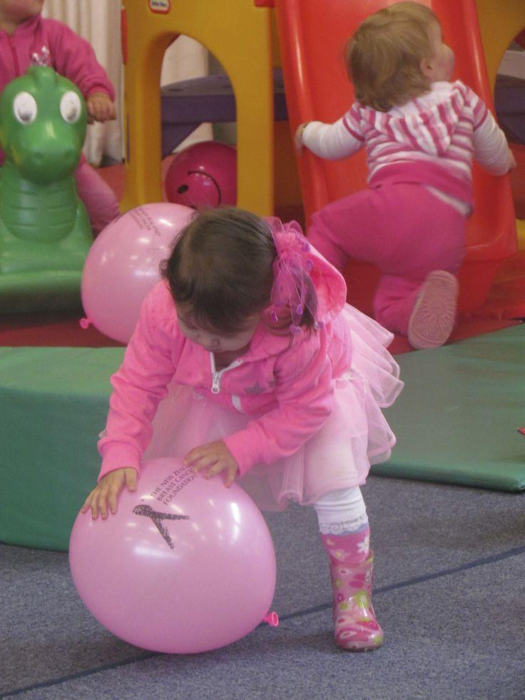 kiddies all dressed in pink