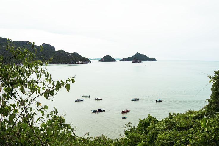 Bay and Boats - Hua Hin Day Trip: Khao Sam Roi Yot National Park - Adventure In Focus #travel #adventure #paradise #Thailand