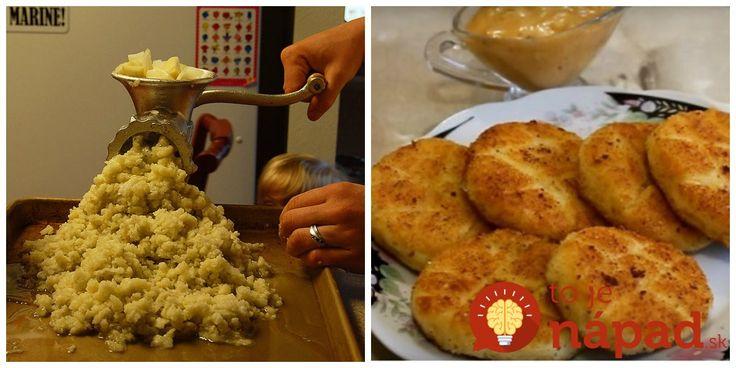 Namiesto klasických zemiakových placiek som skúsila toto vylepšenie: Zemiaky zomeľte v mlynčeku na mäso a pridajte syr, lepšiu prílohu nenájdete!