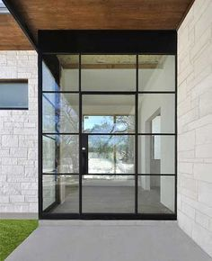 Steel Frame Front Door And Window Google Search Our