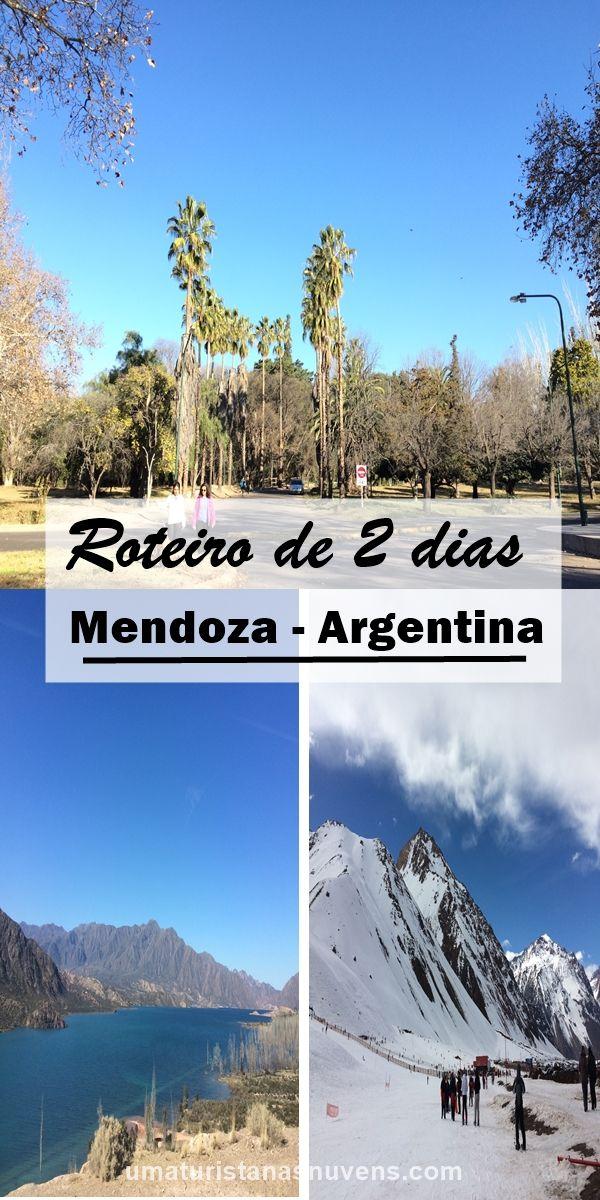 Roteiro de 2 dias na região da Província de Mendoza na Argentina. Considerada uma das regiões responsáveis por mais de 70% da produção de vinhos do país.
