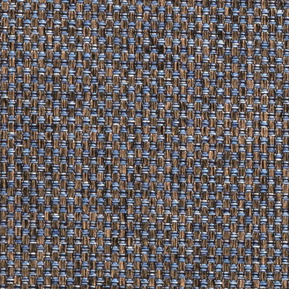 Great Blue Bronze Upholstery Fabric By The Yard   Blue Brown Modern Tweed Fabric  For Furniture