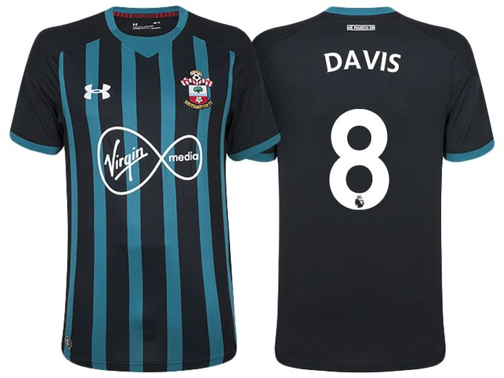 Southampton Jersey steven davis 17-18 Away Shirt