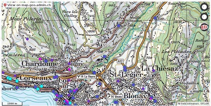Corsier-sur-Vevey VD Handy antennen netz Natel http://ift.tt/2q6tyCc #geoportal #mapOfSwitzerland