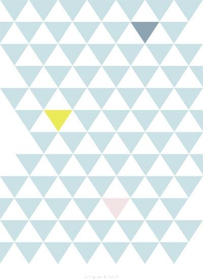 Sirlig ✮ de små gode ting i livet ✮ — Postkort med mønster