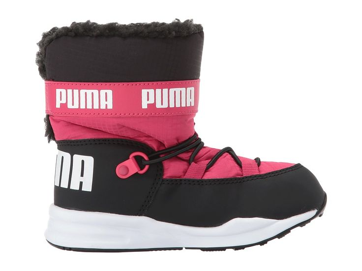 Puma Kids Trinomic Boot (Toddler) Girls Shoes Love Potion/Puma Black