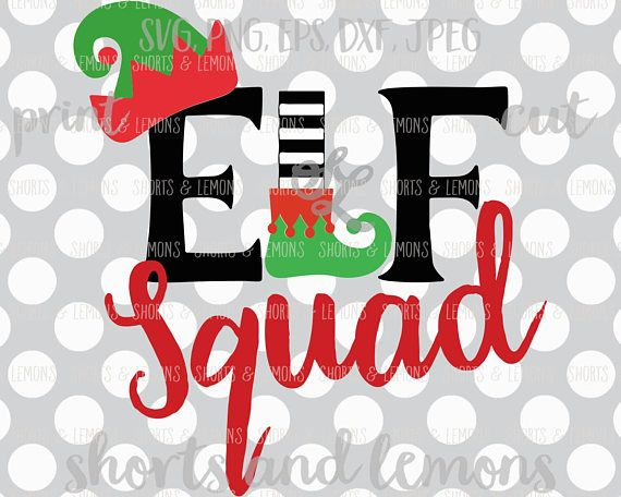 Get Monogram Elf – Svg, Dxf, Eps Cut File Design