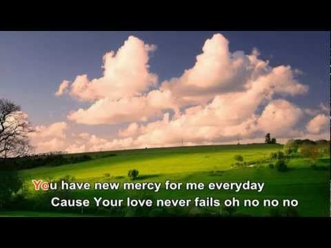 Your Love Never Fails - Newsboys (with lyrics)...Love this song!!  Crank it up and praise our awesome LORD!!