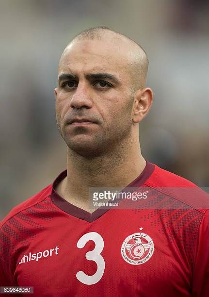 ABDENNOUR of Tunisia during the Group B match between Algeria and Tunisia at Stade Franceville on January 19 2017 in Franceville Gabon