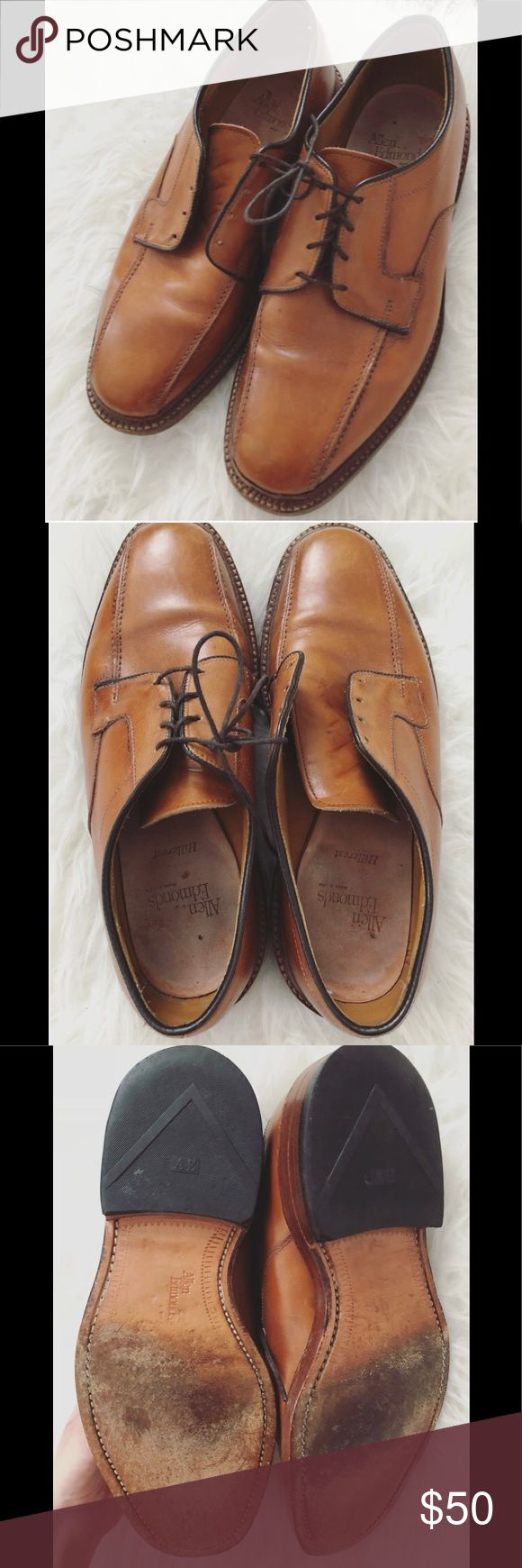 Men's Allen Edmonds HillCrest Shoe Men's Allen Edmonds HillCrest Shoe. These shoes are in preloved condition, and one of the shoes is missing it's shoe lace. If you can replace the lace, these will make a nice pair of shoes for work or everyday wear! Size 7.5. Allen Edmonds Shoes Oxfords & Derbys