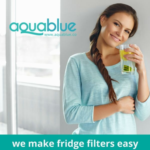aquablue - we make fridge filters easy  compatible with over 800 water filter models from the top refrigerator brands, aquablue makes it easy to replace your filter. our products are made in the u.s.a and designed with advanced activated carbon-block technology to remove impurities and contaminants from your water