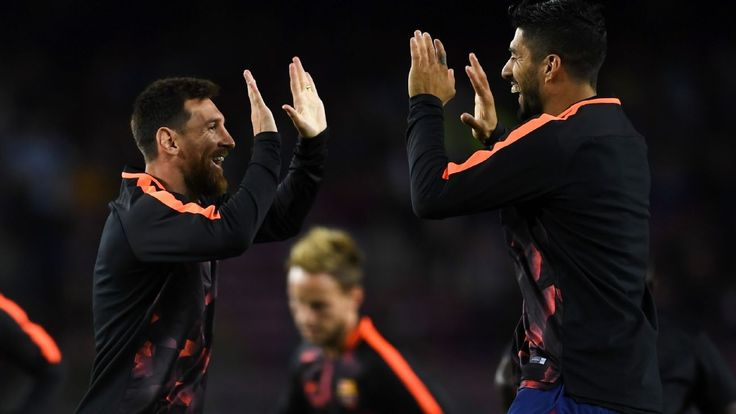 Valverde might manage Messi, Suarez playing time during busy week