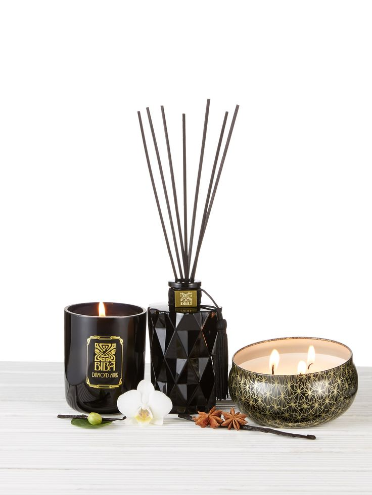 Biba Diamond Musk Home Fragrance Range