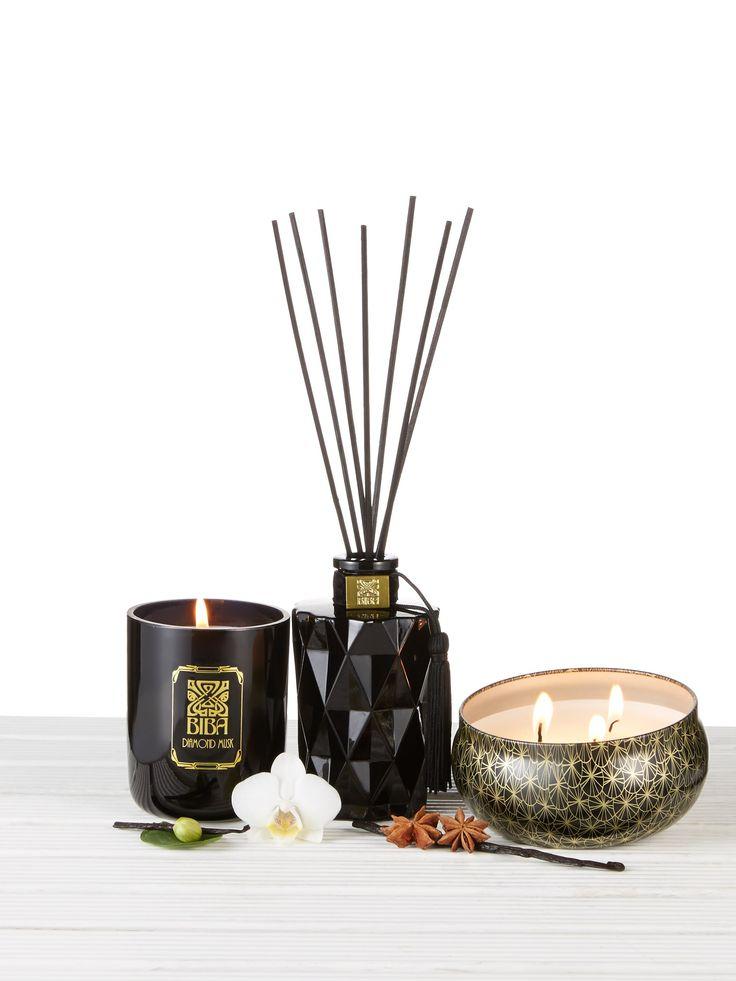 Biba Diamond Musk Home Fragrance Range