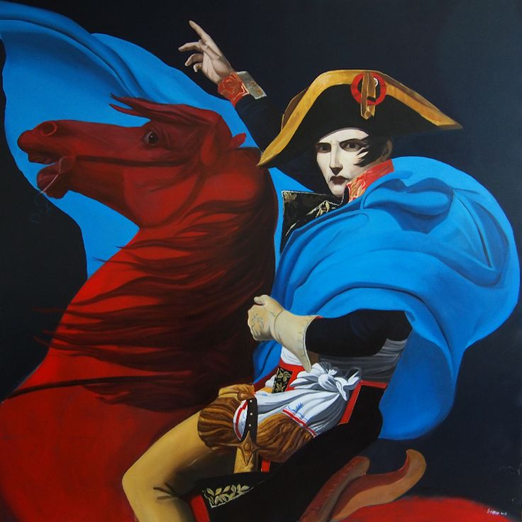 Kompenzace, oil on canvas, 150x150cm
