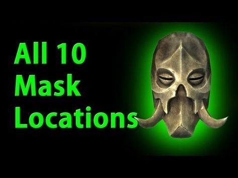 All 10 Dragon Priest Mask Locations - Skyrim - YouTube - YouTube
