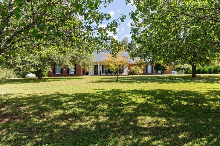 CLICK2TOUR 13 beautiful acres accented with stunning 3BR/2BA home, pool, multiple decks, water feature, large pond, pole barn, huge 30x60 shop and much more! For more details, call/text, Stacy St. Cin, (334) 268-3071, Securance Group.#wetumpkaal #alacreageforsale Photos & tour by Sherry Watkins…I Shoot Houses…http://www.Go2REassistant.com/VirtualTours.htm