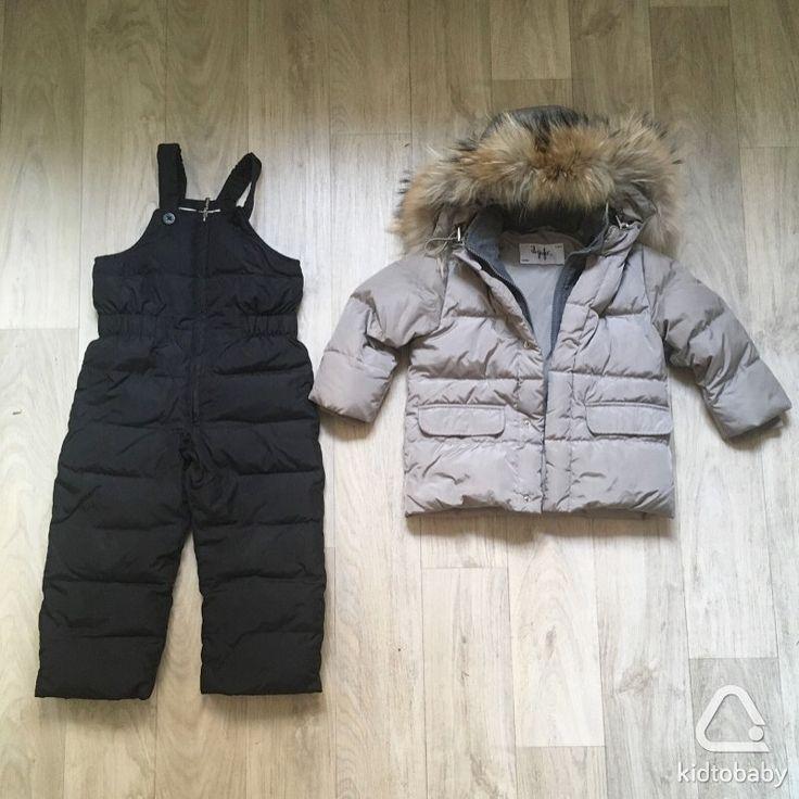 Зимний комплект в идеальном состоянии, р.98. Куртка  il gufo, полукомбинезон aviva. 6 000 ₽❄️
