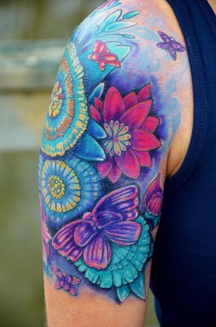 drawn and done by John Garancheski III of Tattooed Heart Studios in Glen Burnie, MD.