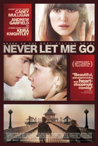 Never Let Me Go. Film. The students of an elite school in the English countryside are constantly shunned by visitors. Slowly, they discover their unconventional origins and strange destiny.