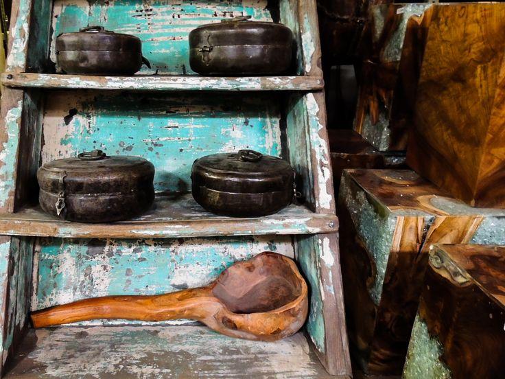 Brass boxes from India on wooden steps and petrified wood! #petrifiedwood #wood #wooden #India #petrified #steps #stairs #woodlovers #woodenspoon #polished #distressed #contrast #interiordesigners #interiordesugnideas #interiordesign #luxuryliving #art #stool #decor #furnituredesign #details #phoenix #az #arizona #scottsdale #tempe #warehouse #rustic #vintage #wholesale