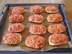 Pizzabrötchen (Rezept mit Bild) von XxSahnetortexX | Chefkoch.de
