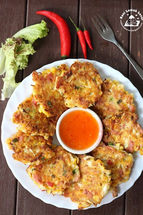 Corns and pumpkin savory pancakes asian food for Recipes for pancakes sweet and savory