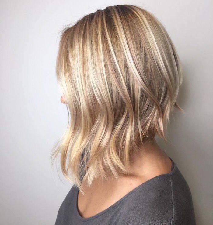 1001 Idees Carre Plongeant Degrade On Arrondi Les Angles Carre Plongeant Long Boucle Carre Plongeant Cheveux Carre Plongeant Long Blonde