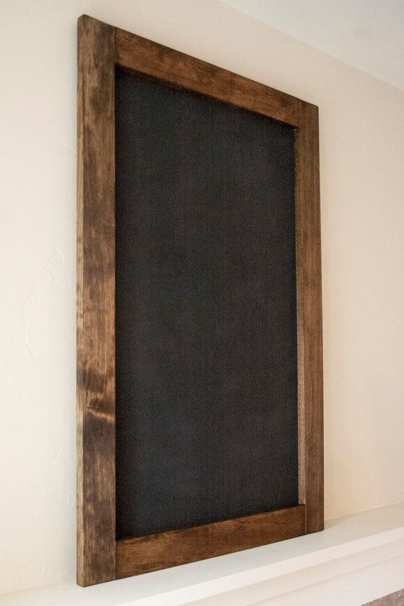 "Large Rustic Framed Chalkboard 24""x36"" - $49 