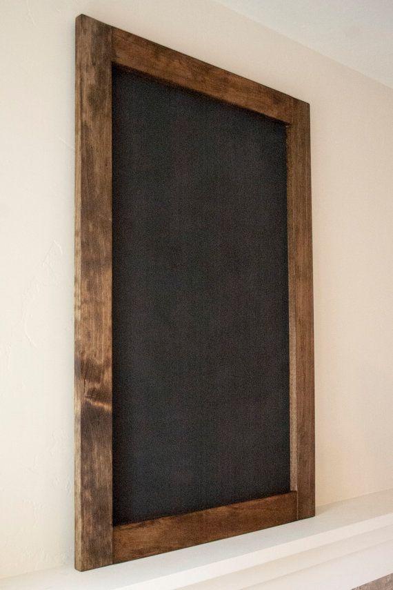 "Large Rustic Framed Chalkboard 24""x36"" - $49   SY ..."