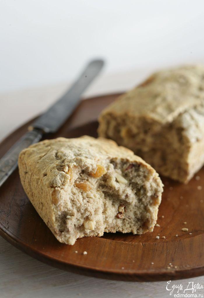 Банановый хлеб - видеорецепт   Кулинарные рецепты от «Едим дома!» Время приготовления: 2 ч. 15 мин. Количество порций: 4 ИНГРЕДИЕНТЫ ОСНОВНЫЕ очень спелые бананы 3 шт. мука пшеничная 2 стакана бразильские орехи 1 стакан мелкий сахар 250 г масло сливочное 120 г яйца куриные 2 шт. разрыхлитель 1 пакет небольшой корень имбиря1 шт. ванильный экстракт1 ч. л. соль морская¼ ч. л.