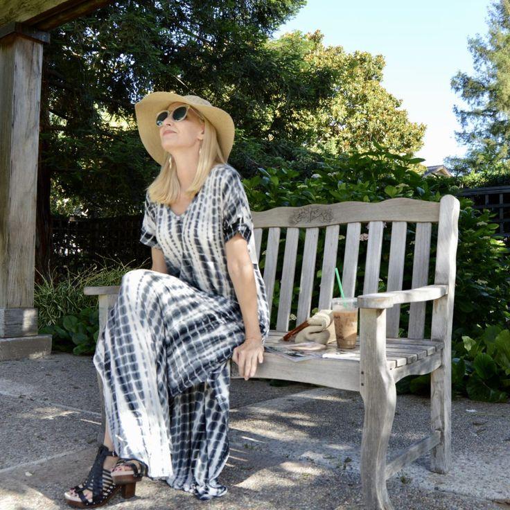 Tie-Dye Maxi Dress with Pockets! - Fashion Should Be Fun