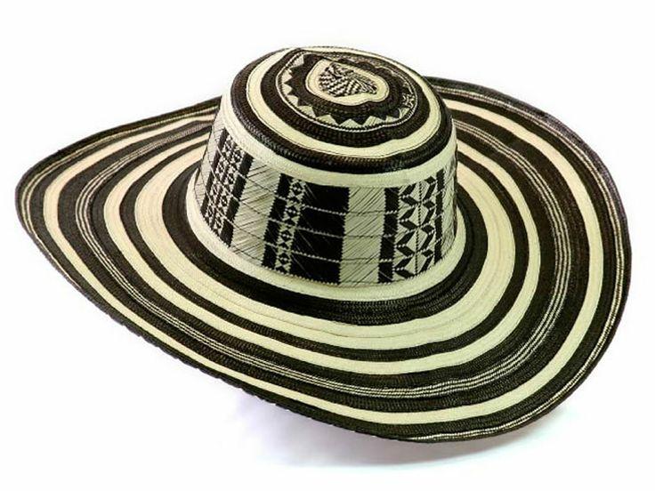 Sombrero Vueltiao Quinciano - a cultural symbol of Colombia woven from cana flecha.