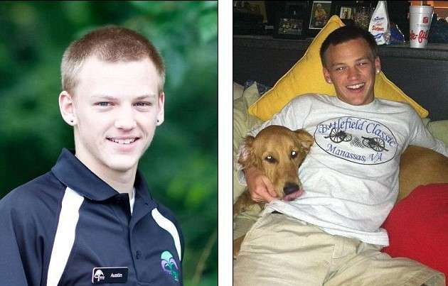Student Steven Austin Underhill pictures,died from an opioid overdose