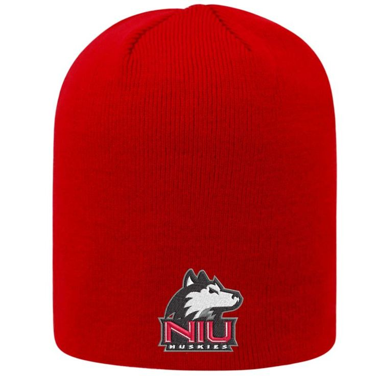 Top of the World Men's Northern Illinois Huskies Cardinal TOW Classic Knit Beanie, Team