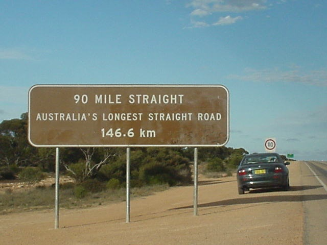 Nullarbor , I hitch hiked from Ceduna to Perth on a roadtrain back in 1987.