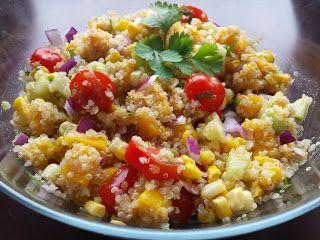THAT girl.: Zesty Quinoa Summer Salad