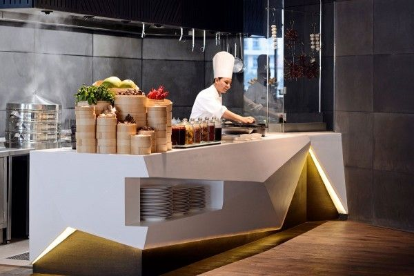Hotel all day dining buffet counter design see more