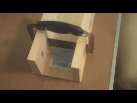 How To Make A Homemade Soap Cutter  --Video